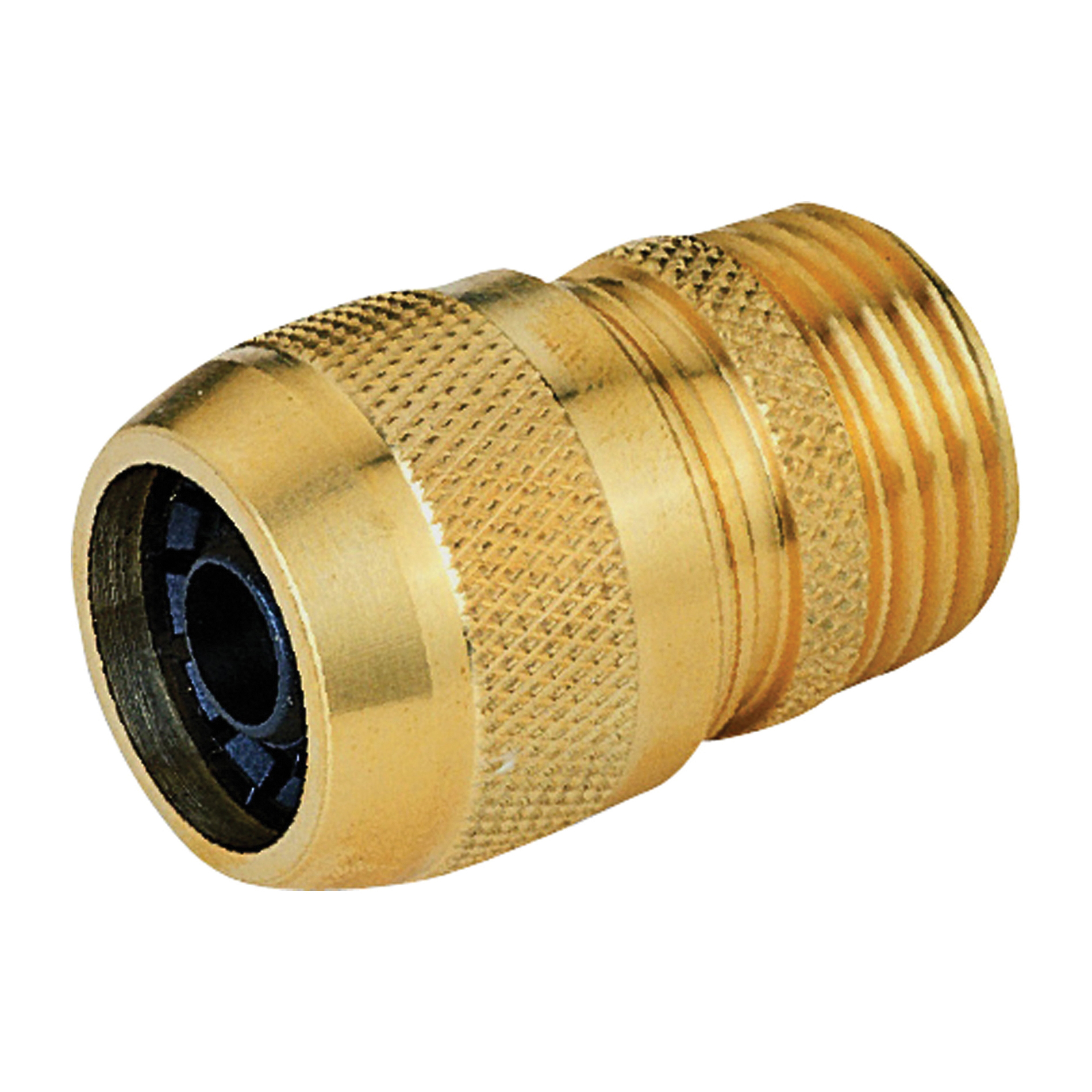 Picture of Landscapers Select GB8123-1(GB9210) Hose Coupling, 5/8 in, Male, Brass, Brass
