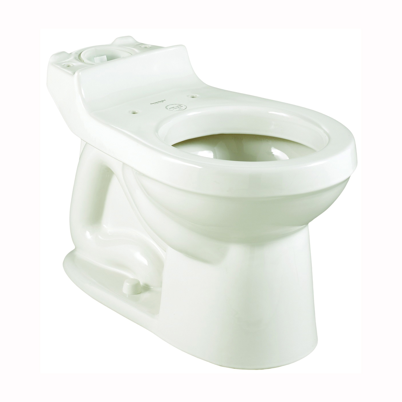Picture of American Standard Champion 3395A001.020 Toilet Bowl, Elongated, 1.28 gpf Flush, 12 in Rough-In, Vitreous China