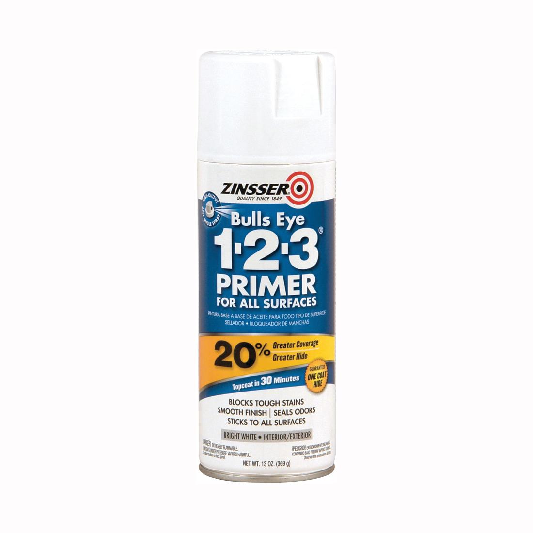 Picture of ZINSSER 02008 Primer, White, 13 oz