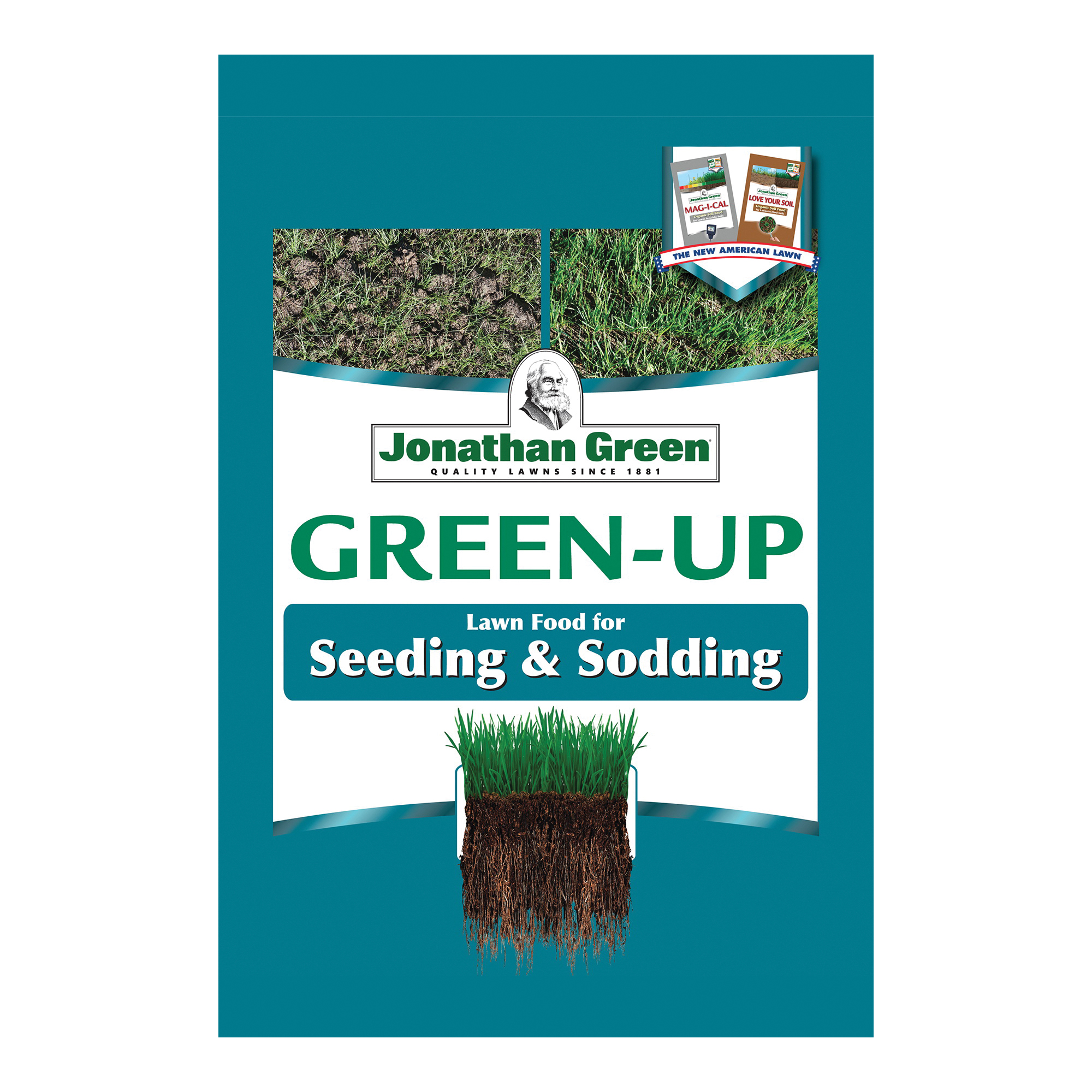 Picture of Jonathan Green Green-Up 11541 Seeding Lawn Fertilizer, 5,000 SQ FT