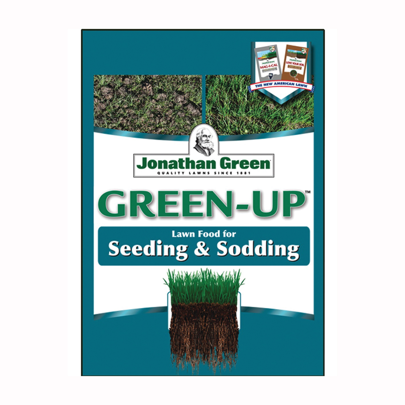 Picture of Jonathan Green Green-Up 11543 Seeding Lawn Fertilizer, 15M SQ FT