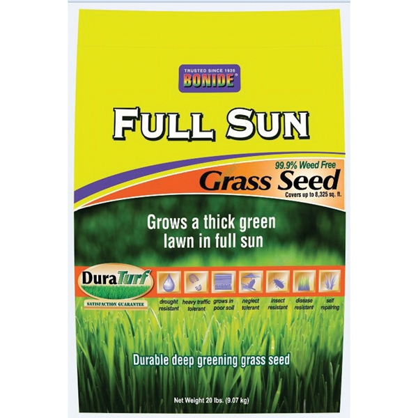 Picture of DuraTurf 60207 Full Sun Grass Seed, 20 lb Package, Bag
