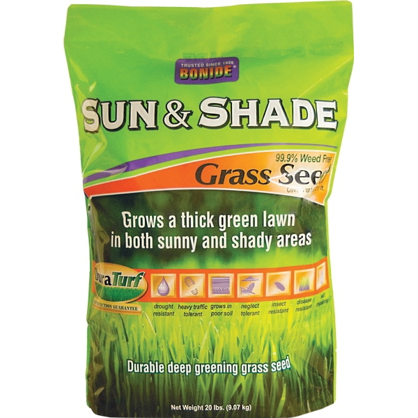Picture of DuraTurf 60227 Sun and Shade Grass Seed, 20 lb Package, Bag