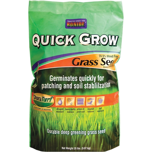 Picture of DuraTurf 60267 Quick Grow Grass Seed, 20 lb Package, Bag