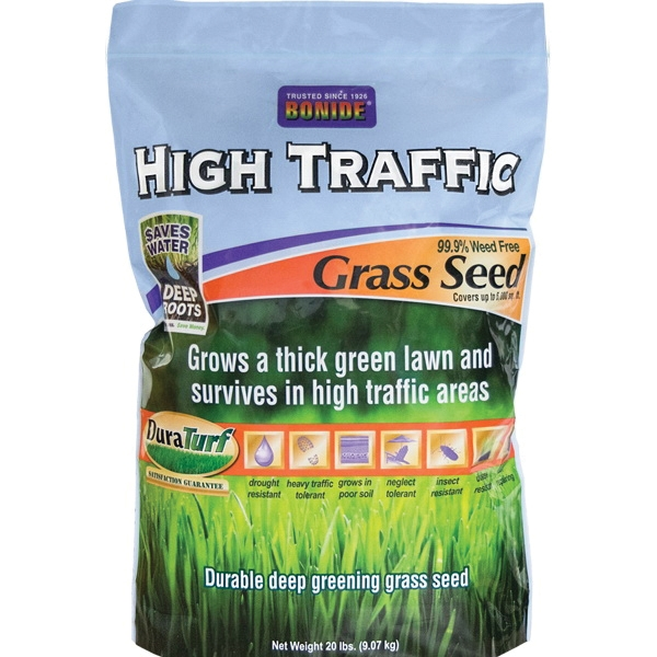 Picture of DuraTurf 60287 High Traffic Grass Seed, 20 lb Package, Bag