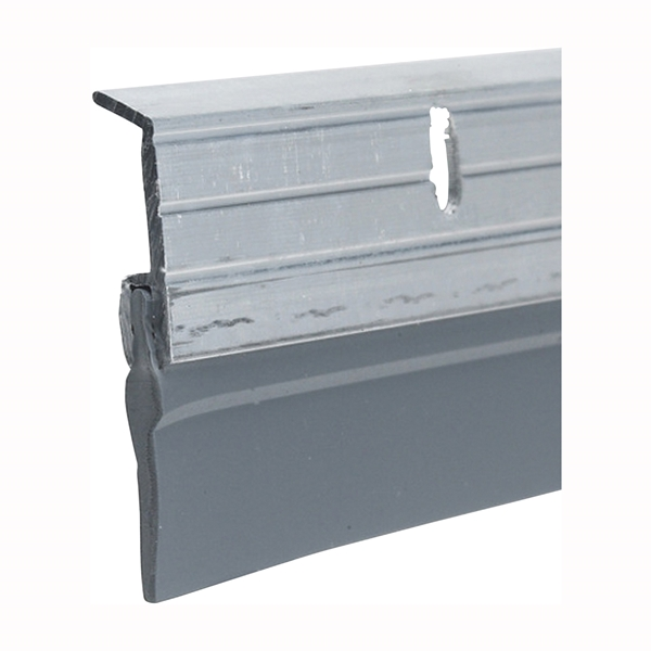 Picture of Frost King A59/36H Door Sweep, 36 in L, 1-5/8 in W, Aluminum Flange, Vinyl Insert