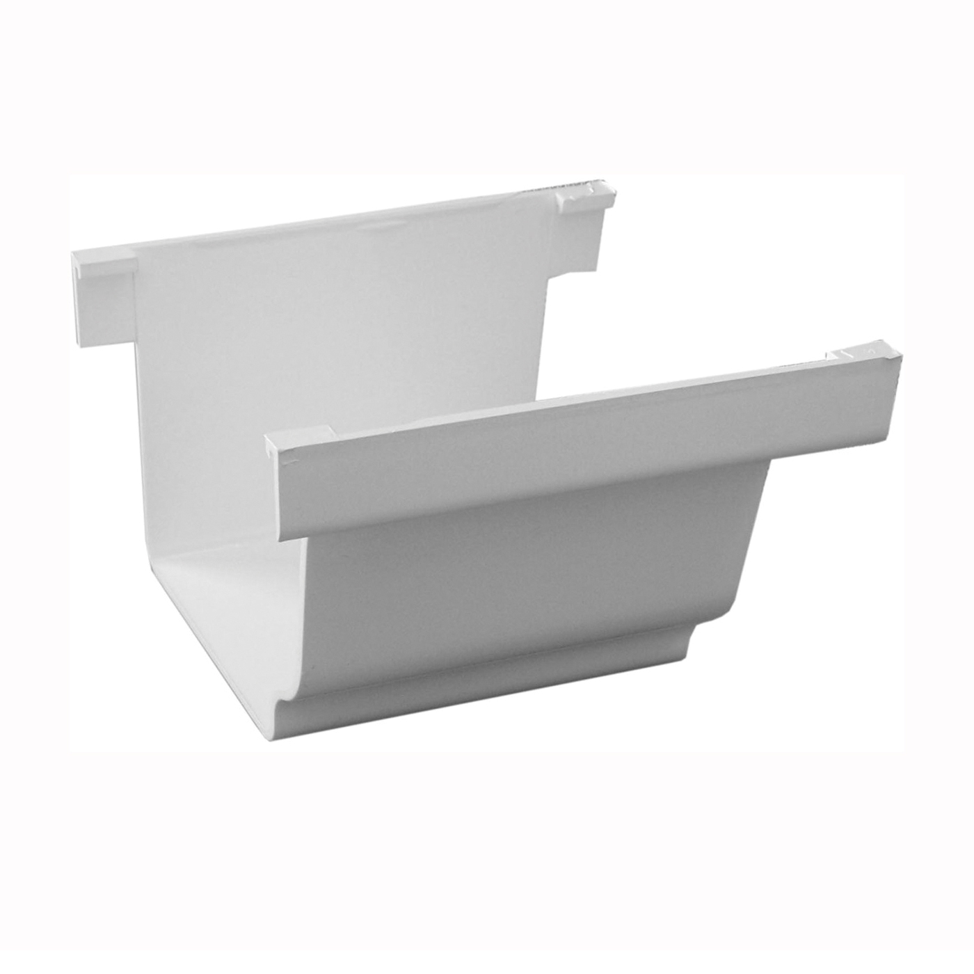 Picture of GENOVA AW105K Gutter Connector, Vinyl, White