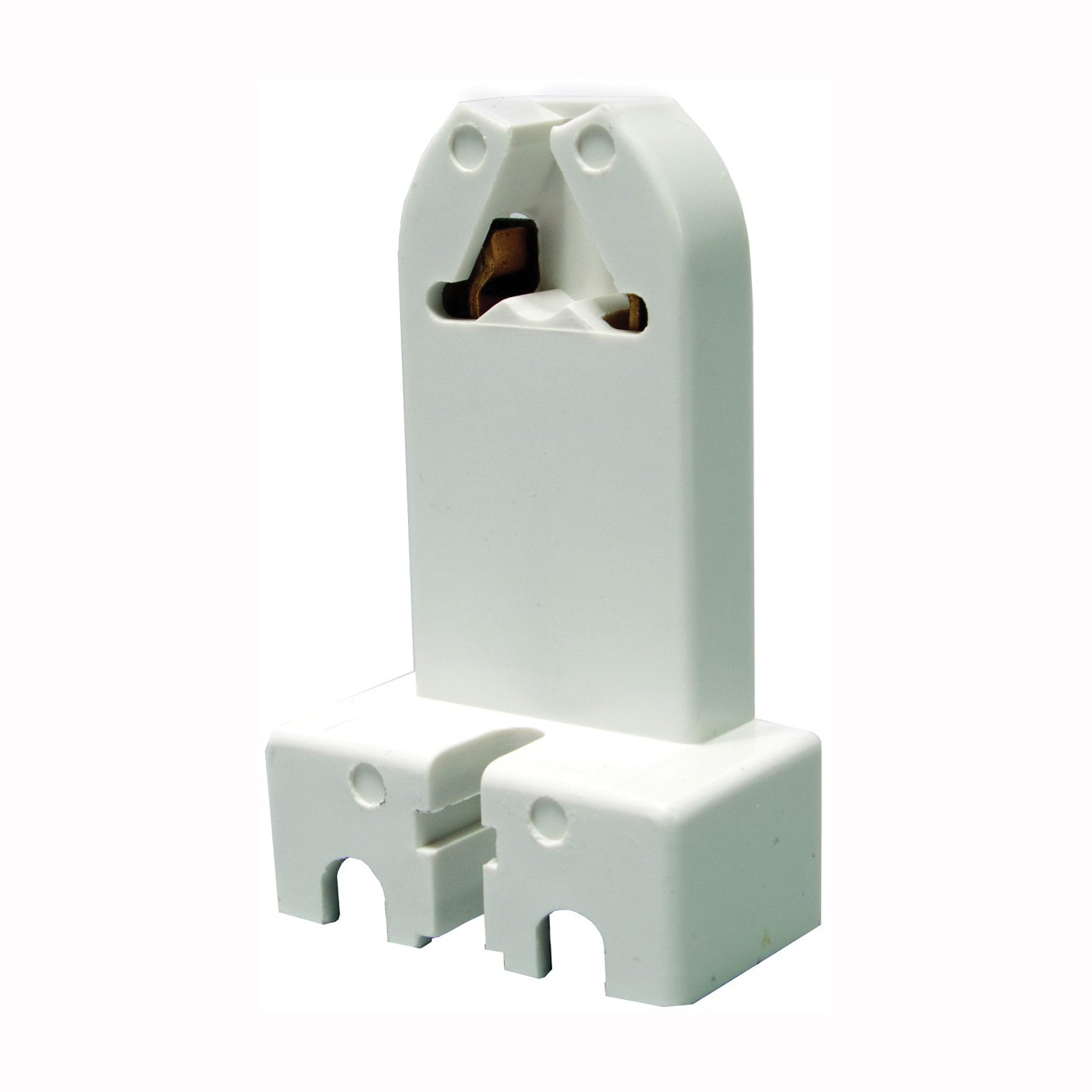 Picture of Eaton Wiring Devices 924W-BOX Lamp Holder, 600 VAC, 660 W, White