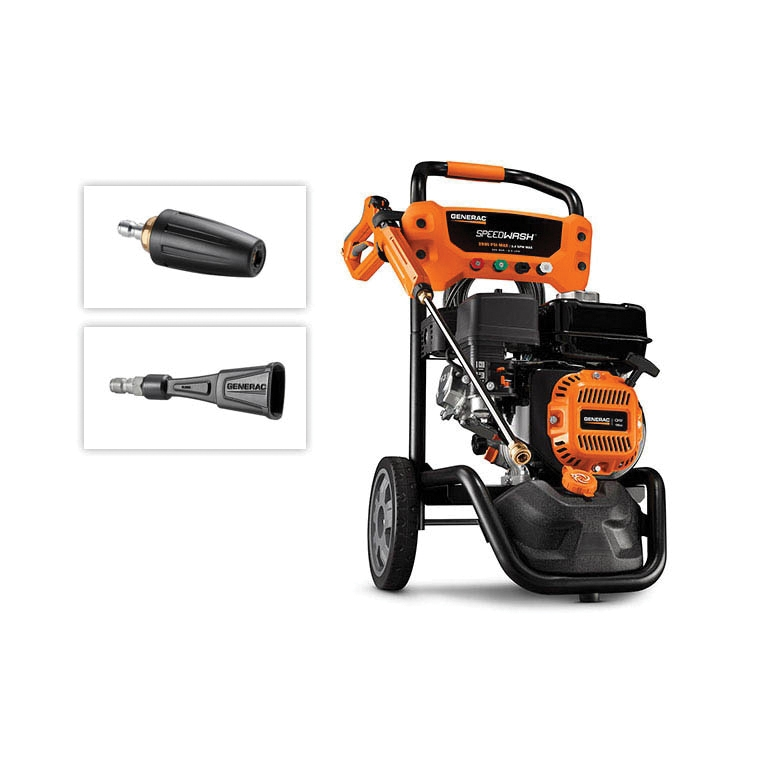 Picture of GENERAC 10000006882 Pressure Washer, OHV Engine, 196 cc Engine Displacement, Axial Cam Pump, 2900 psi Operating