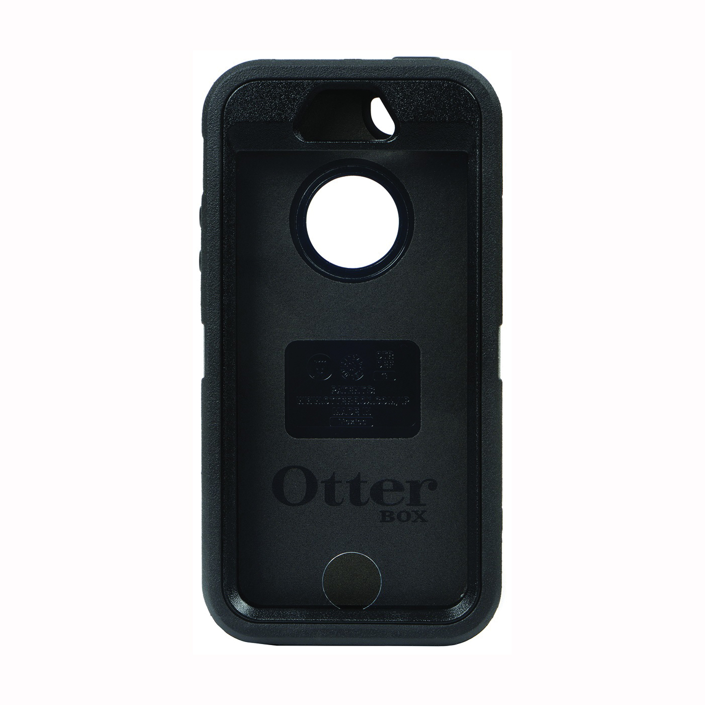 Picture of Nite Ize 77-33322P1 Cell Phone Defender Case, Polycarbonate, Black