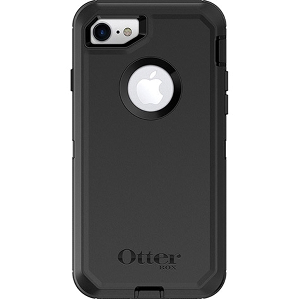 Picture of Nite Ize Defender 77-56603 Cell Phone Case, Polycarbonate/Rubber, Black