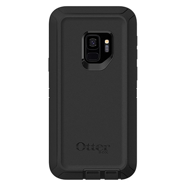 Picture of Nite Ize Defender 77-57814 Cell Phone Case, Polycarbonate/Rubber, Black