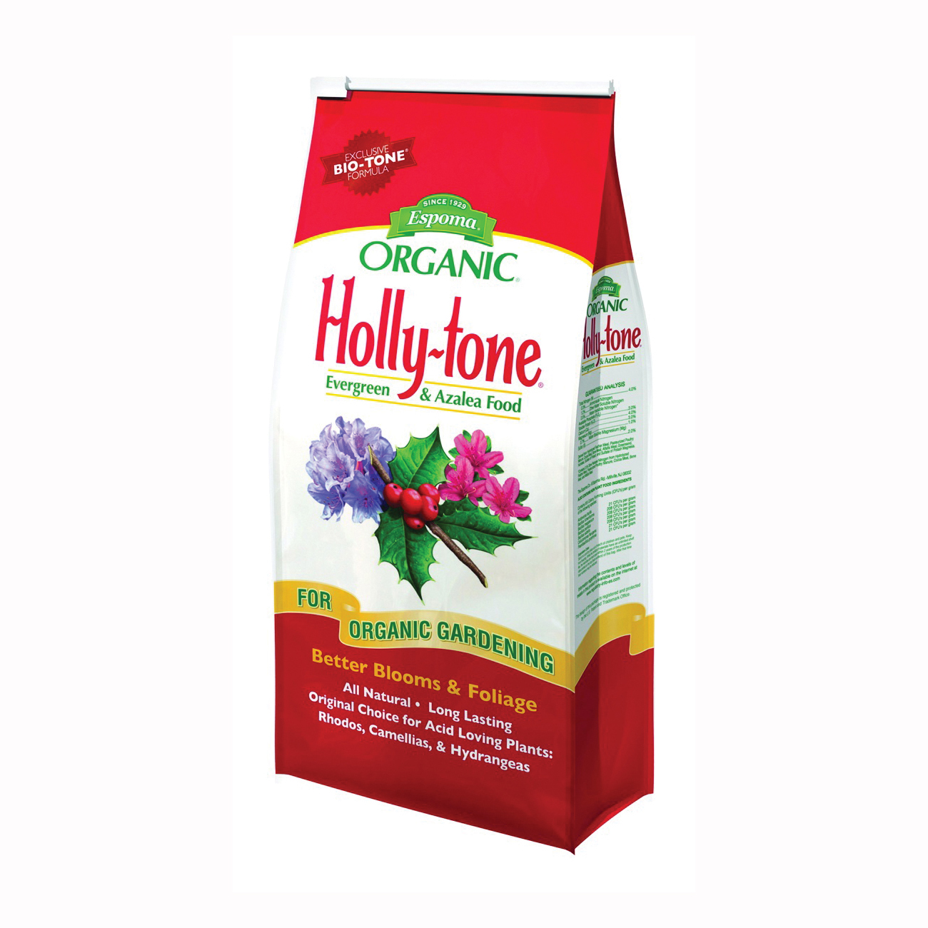 Picture of ESPOMA Holly-Tone HT18 Plant Food, Granular, 18 lb Package, Bag