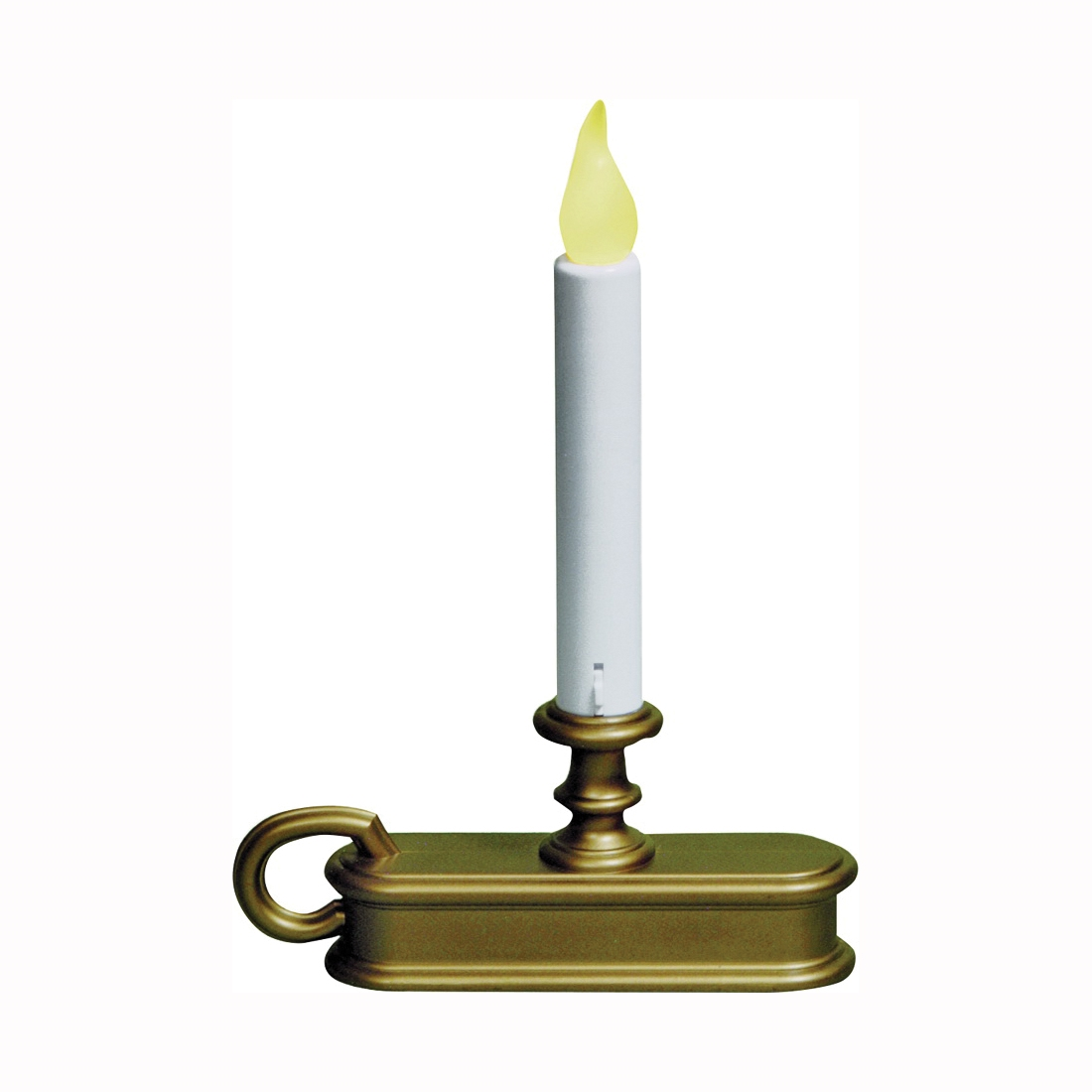 Picture of Xodus Innovations FPC1225 LED Candle, Gold Candle, Amber Bulb