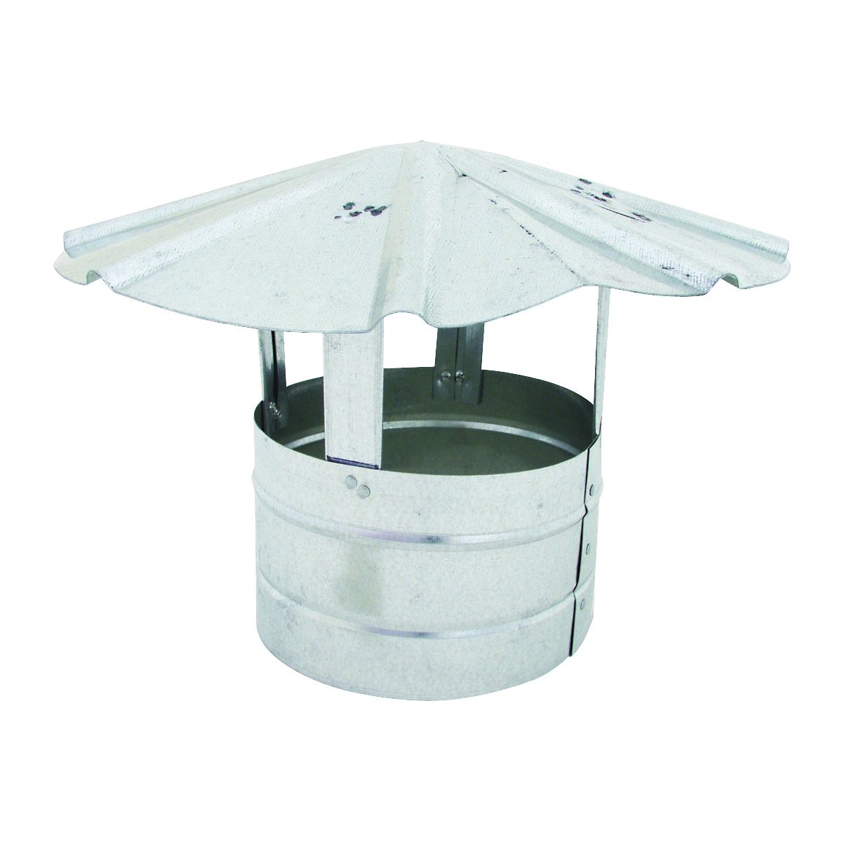 Picture of BILLY PENN 8104 Chimney Hood, 7 in Dia, Galvanized Steel