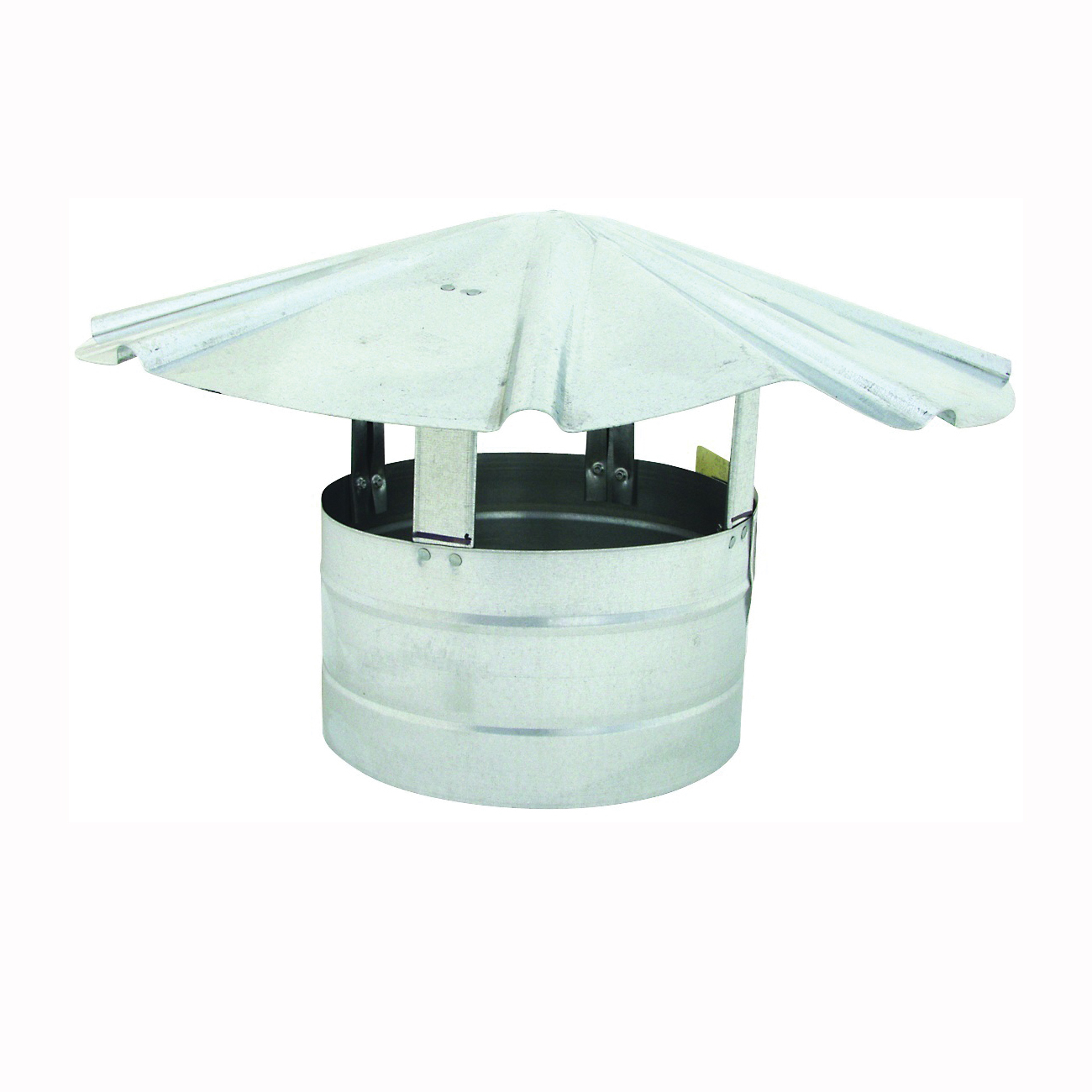 Picture of BILLY PENN 8105 Chimney Hood, 8 in Dia, Galvanized Steel