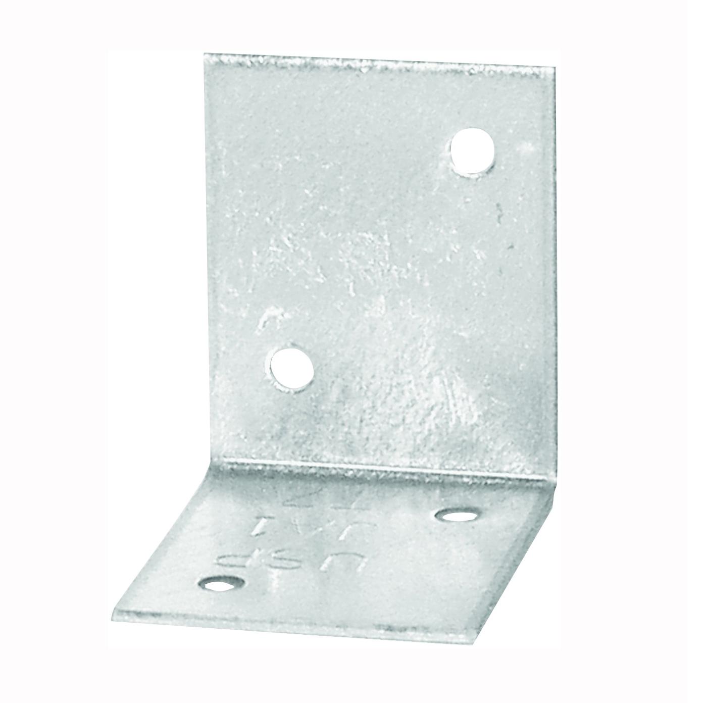 Picture of MiTek JA1-TZ Framing Angle, 1-1/2 in W, 1-1/2 in D, 1-1/4 in H, Steel, Zinc