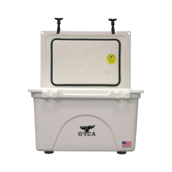 Picture of ORCA ORCW040 Cooler, 40 qt Cooler, White, Up to 10 days Ice Retention
