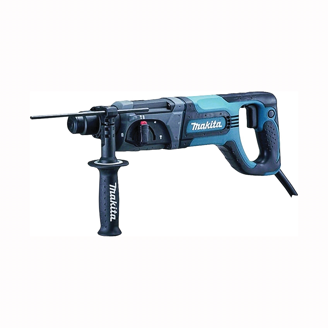 Picture of Makita HR2475 Rotary Hammer, 120 V, 780 W, 24 mm Concrete, 13 mm Steel, 32 mm Wood Drilling, 1 in Chuck