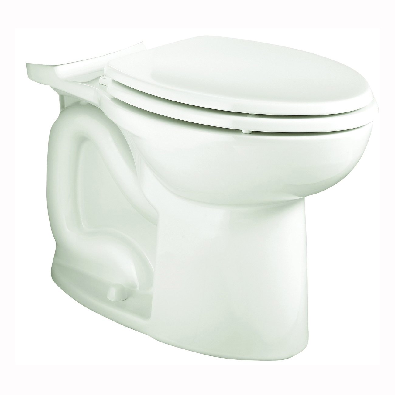 Picture of American Standard Cadet 3 Series 3717D001.020 Toilet Bowl, Round, 1.6 gpf Flush, 12 in Rough-In, Vitreous China