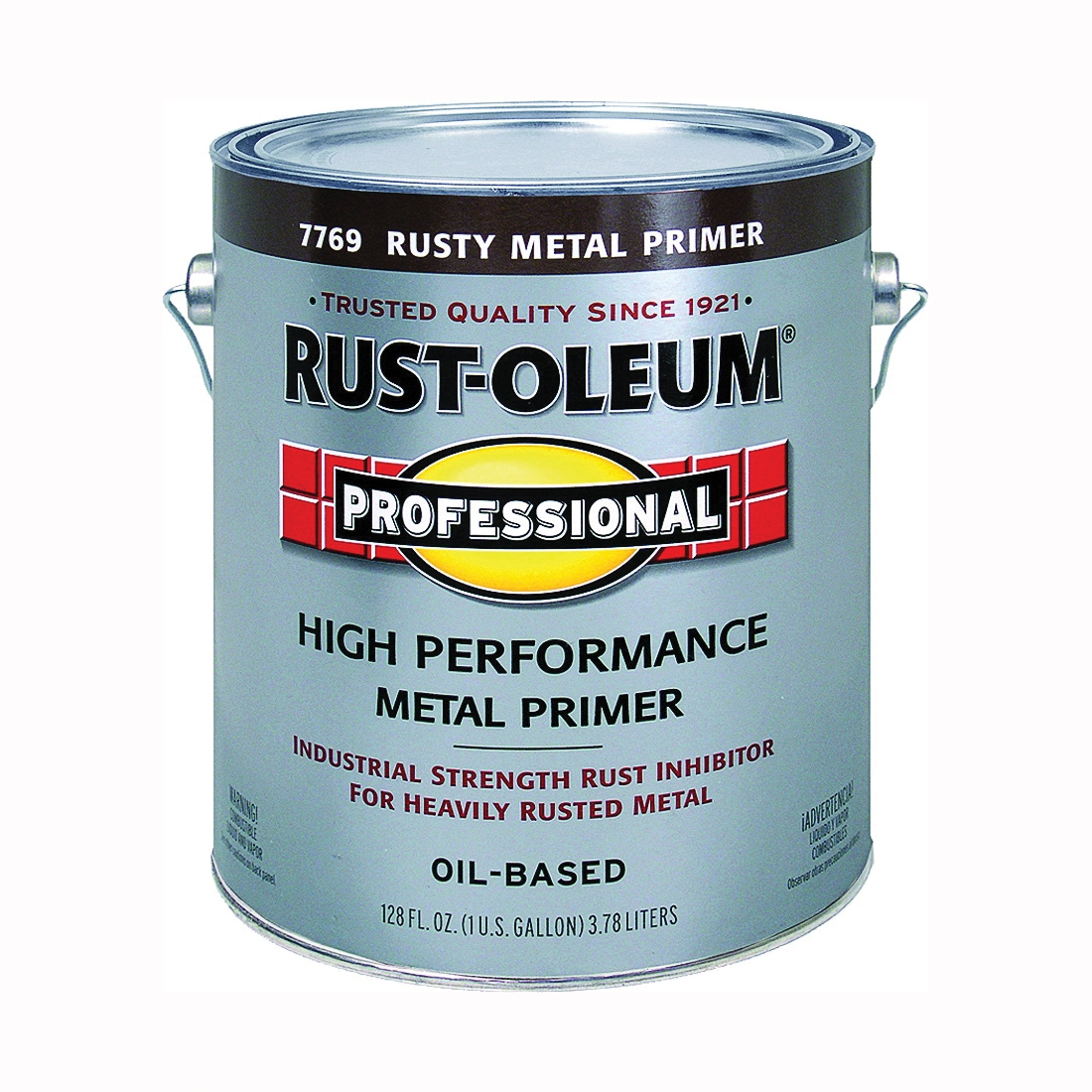 Picture of RUST-OLEUM PROFESSIONAL 7769402 Rusty Metal Primer, Flat, Flat Rusty Metal Primer, 1 gal