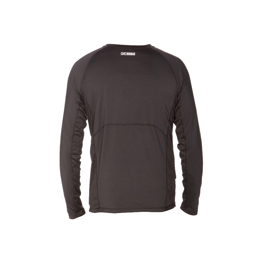Picture of Mobile Warming MWJ16M06-2XL-BLK Longman Heated Shirt, 2XL, Polyamide, Black