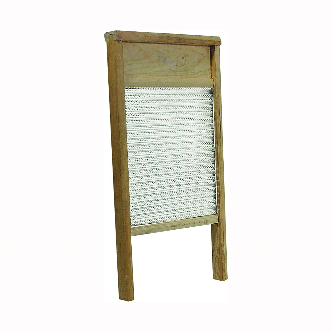 Picture of Behrens BWBG12 Galvanized Washboard, 1-3/4 in L, 12-3/8 in W, Wood