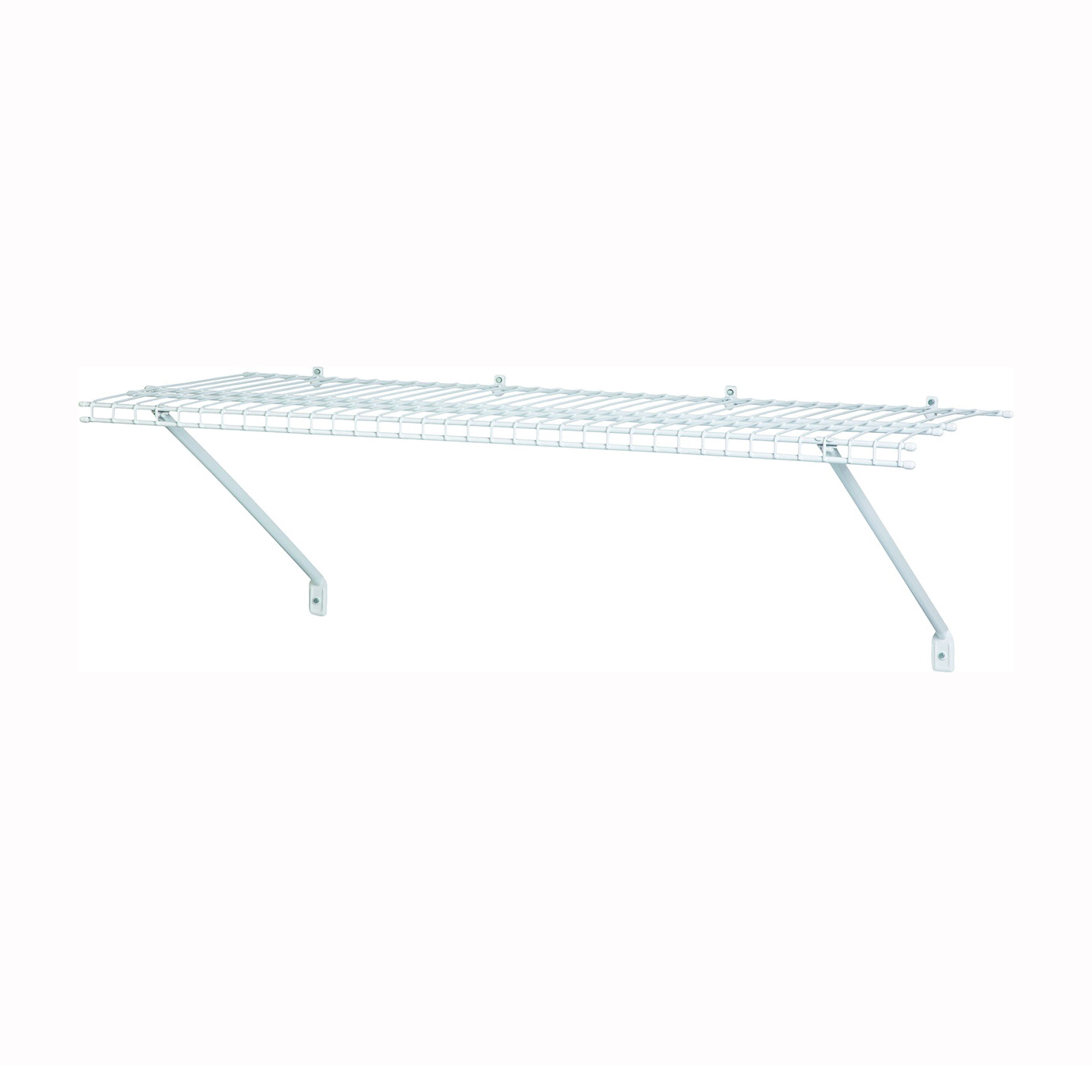 Picture of ClosetMaid 1021 Shelf Kit, 24 in L, 12 in W, Steel, White