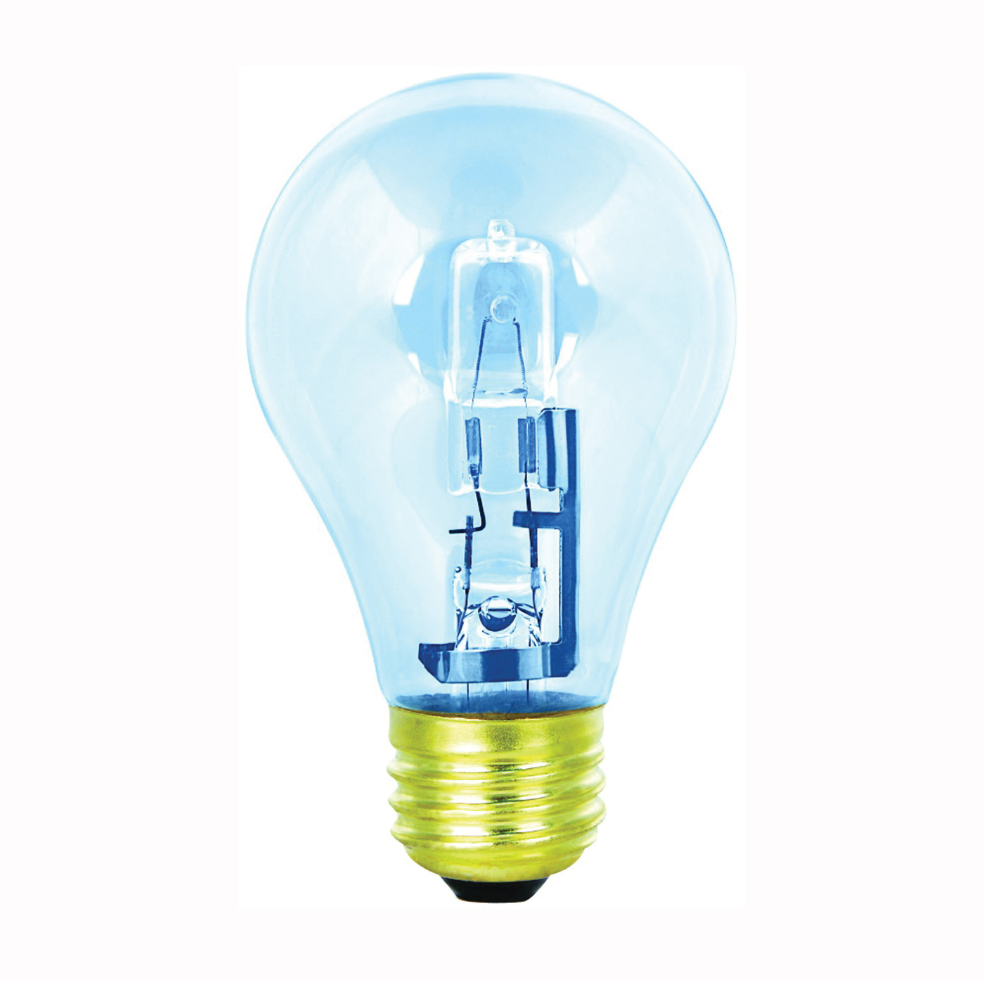 Picture of Feit Electric Q72A/CL/D/2 Halogen Lamp, 72 W, Medium E26 Lamp Base, A19 Lamp, Soft White Light, 1120 Lumens