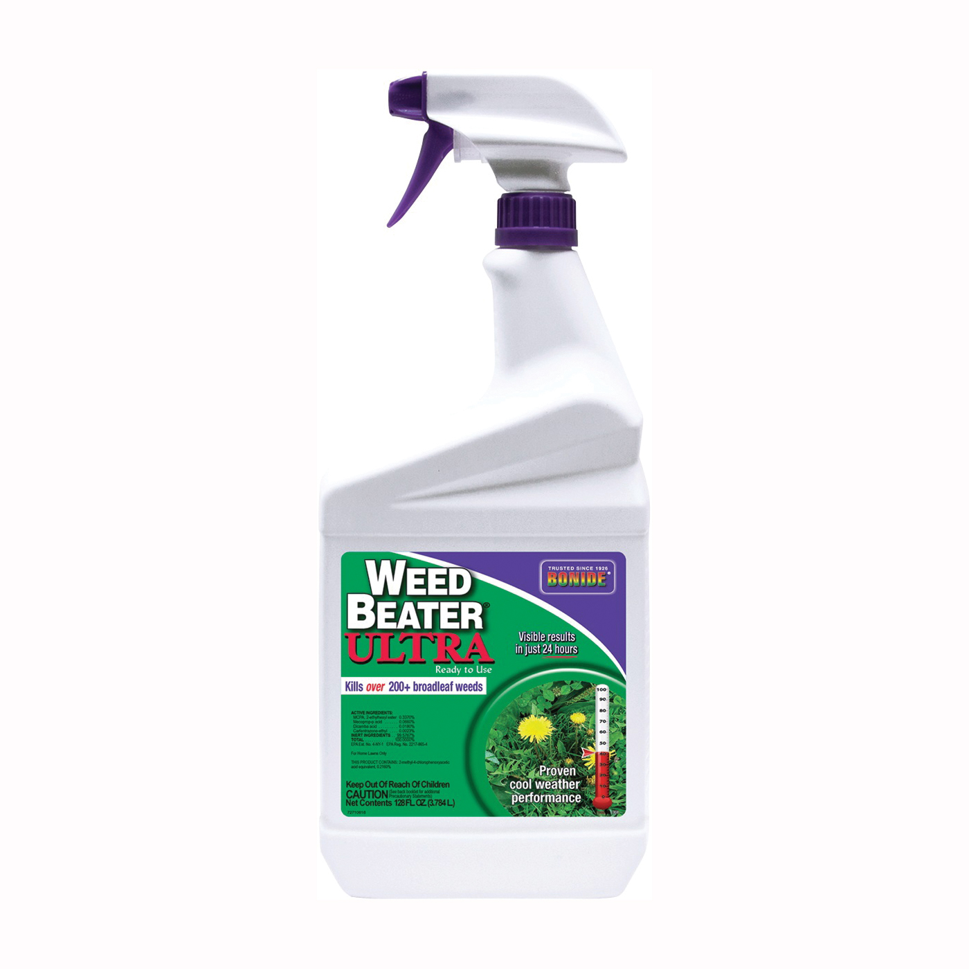 Picture of Bonide 307 Weed Killer, Liquid, Spray Application, 1 qt Package