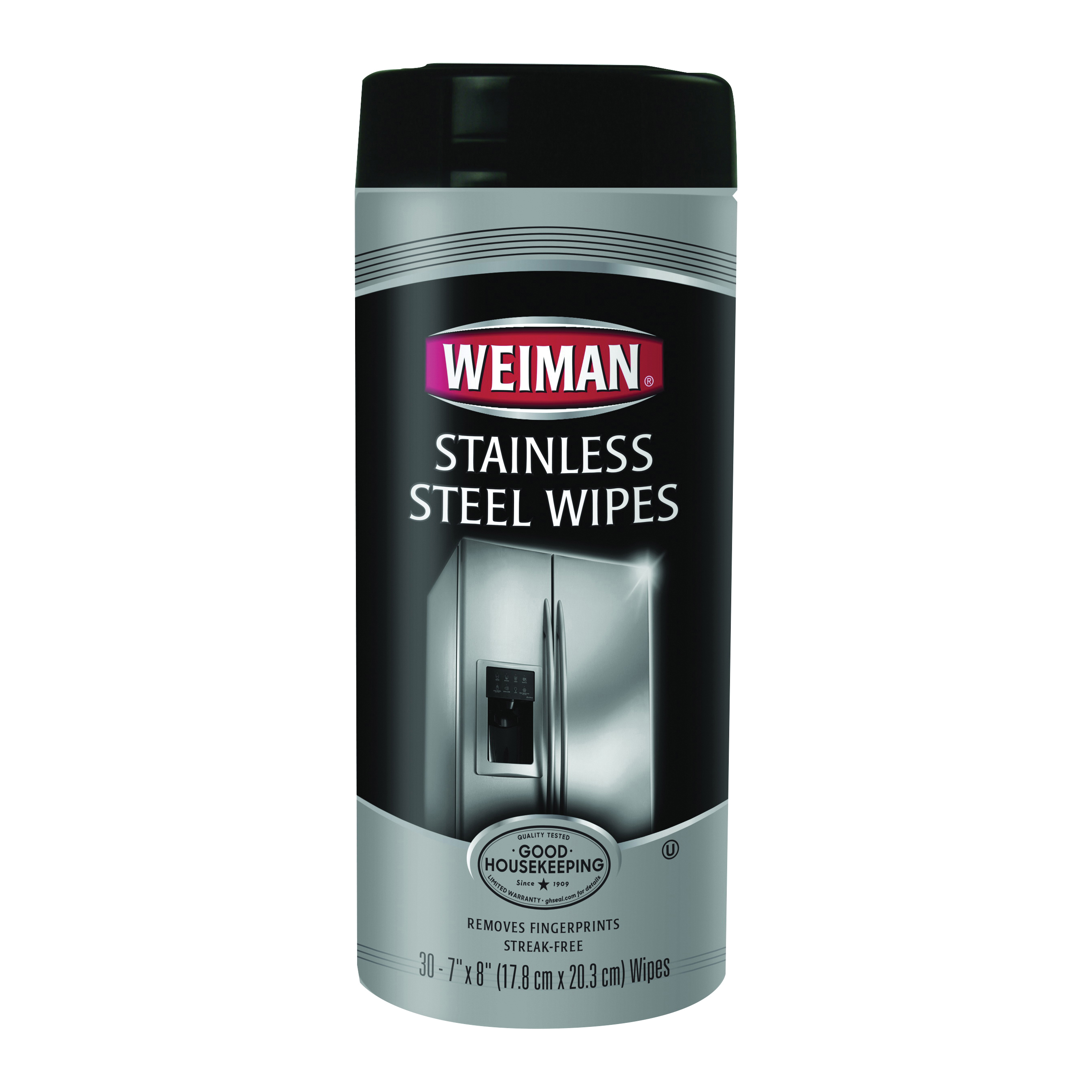 Picture of Weiman 92 Stainless Steel Wipes, 8 in L, 7 in W, Fresh, 30