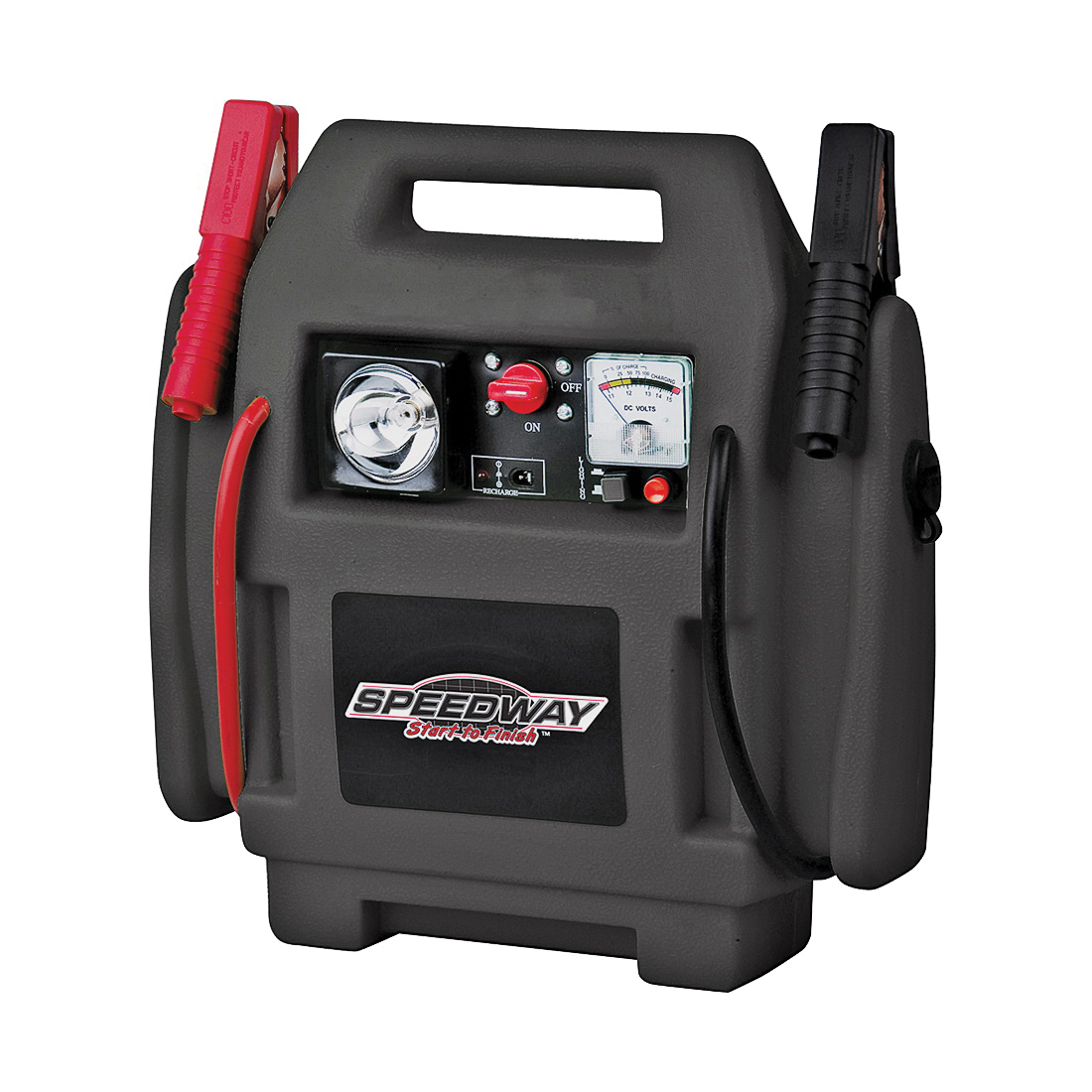 Picture of Speedway 7226 Power Station Jump Starter, 12 VDC, 17 A, Lead-Acid Battery