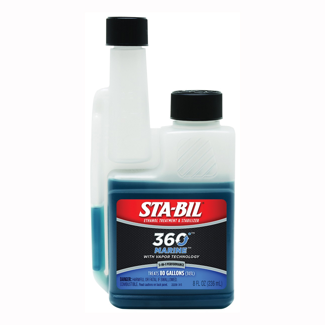 Picture of STA-BIL 360°Marine 22239 Fuel Stabilizer Red, 8 oz Package, Bottle