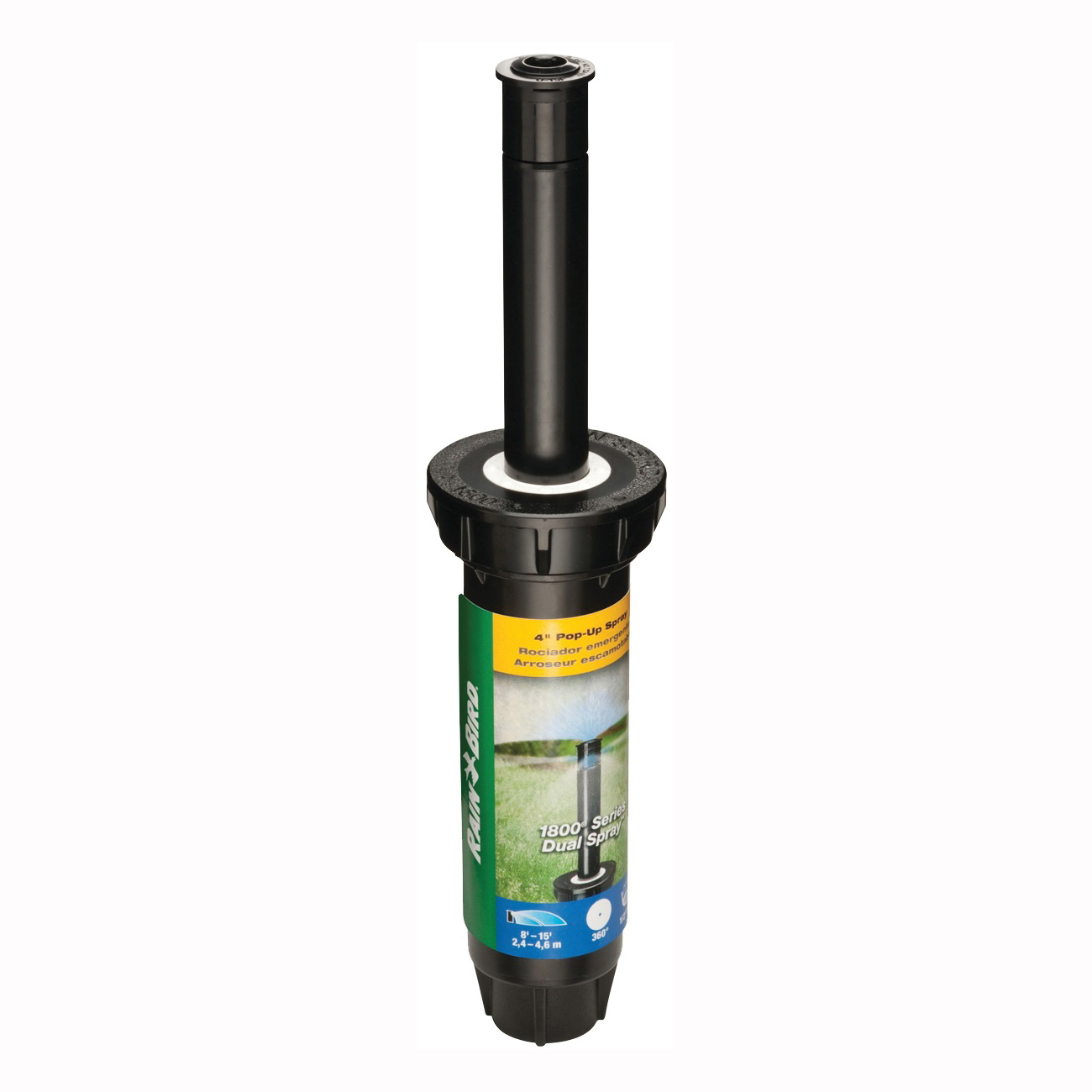 Picture of Rain Bird 1804FDS Spray Head Sprinkler, 1/2 in Connection, FNPT, Plastic