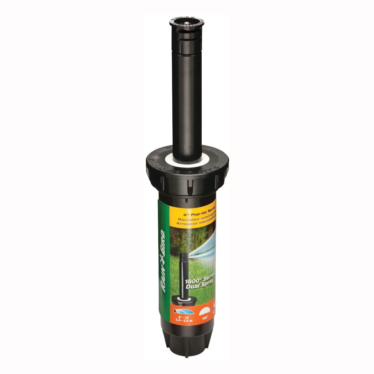Picture of Rain Bird 1804HDS Spray Head Sprinkler, 1/2 in Connection, FNPT, Plastic