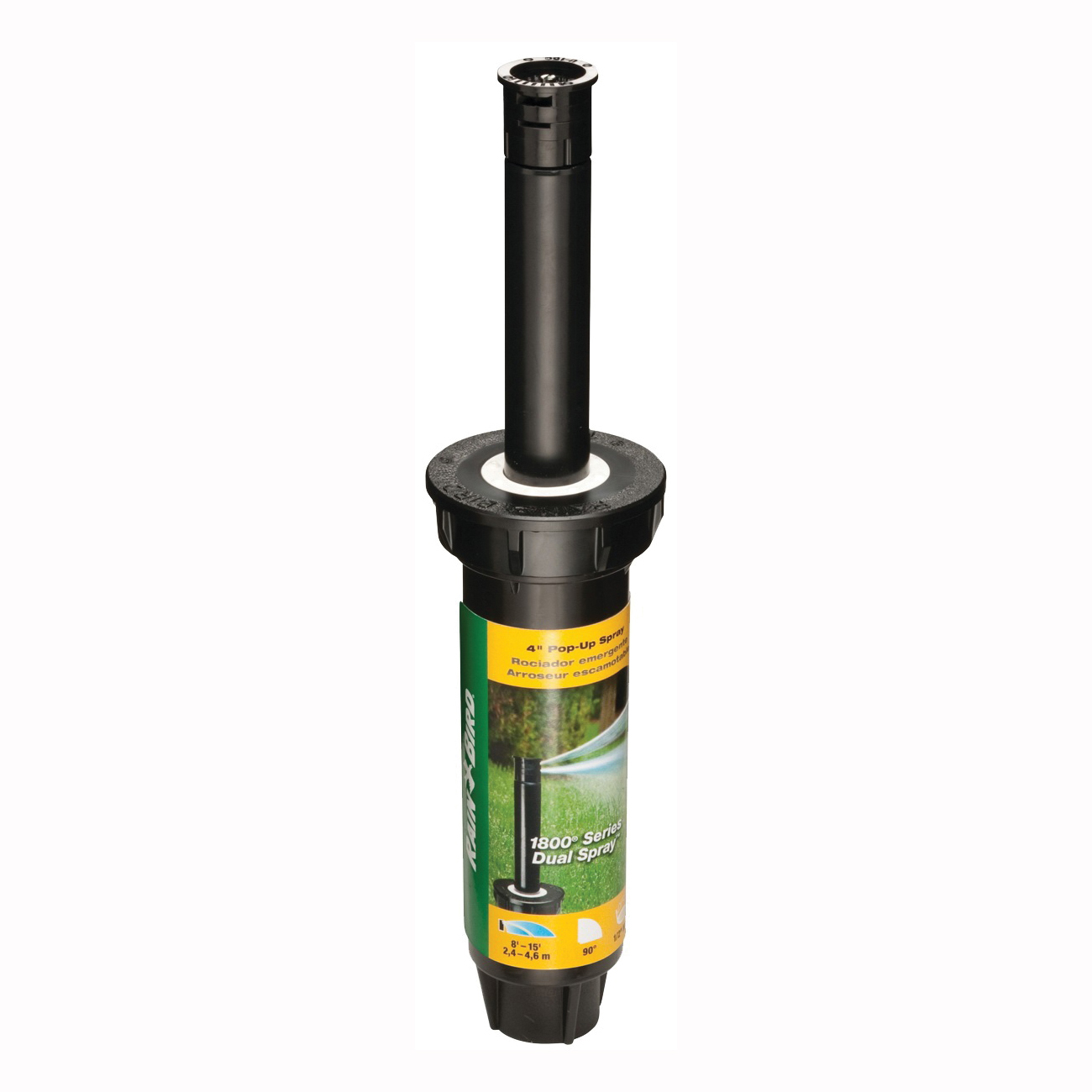 Picture of Rain Bird 1804QDS Spray Head Sprinkler, 1/2 in Connection, FNPT, Plastic