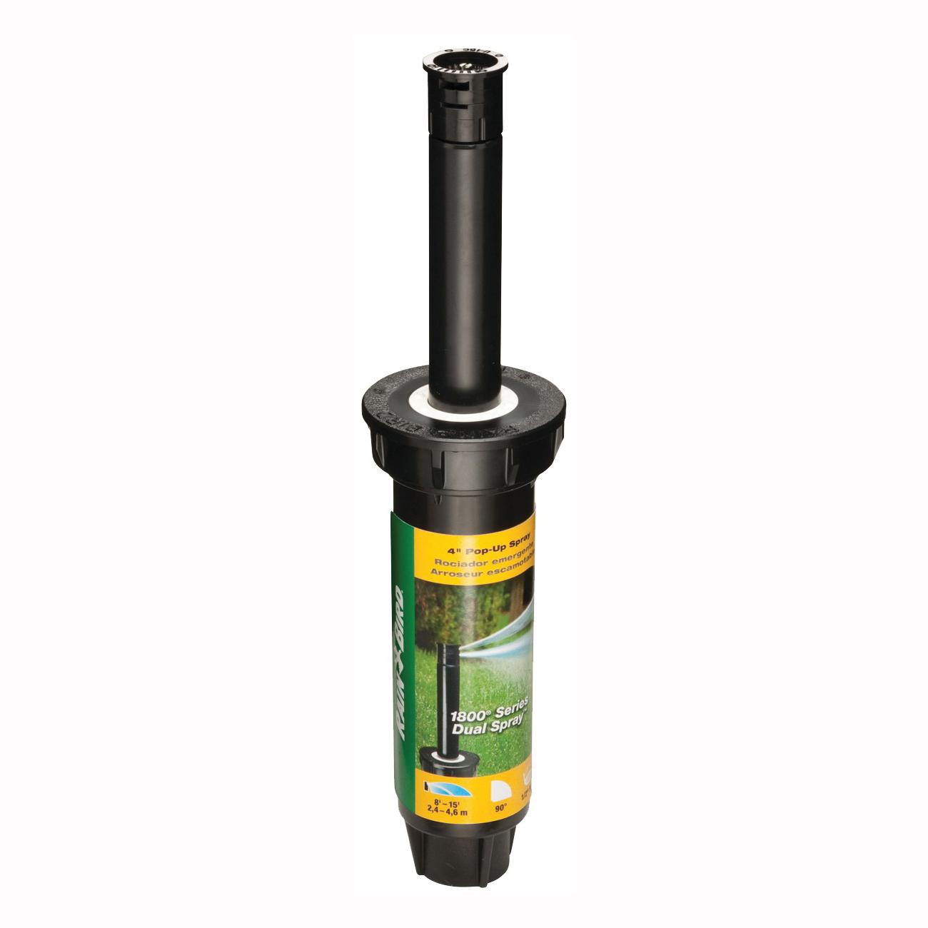 Picture of Rain Bird 1804QDS Spray Head Sprinkler, 1/2 in Connection, FNPT, Plastic