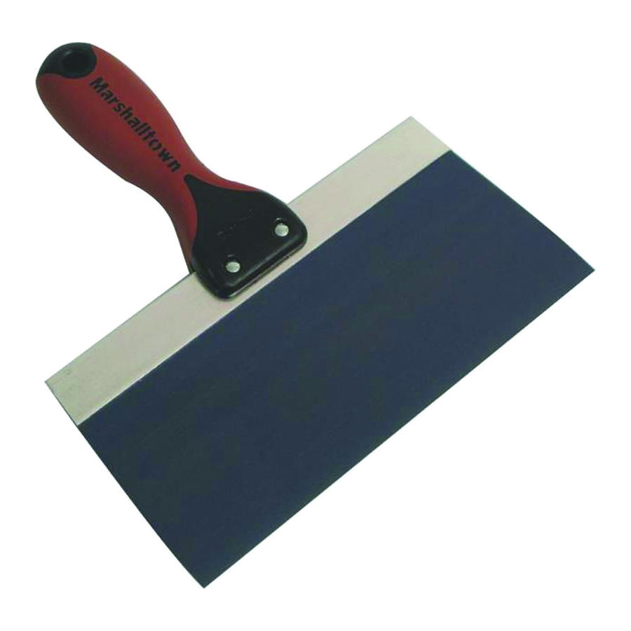 Picture of Marshalltown 4510D Taping Knife, 10 in W Blade, 3 in L Blade, Steel Blade, Ergonomic Handle