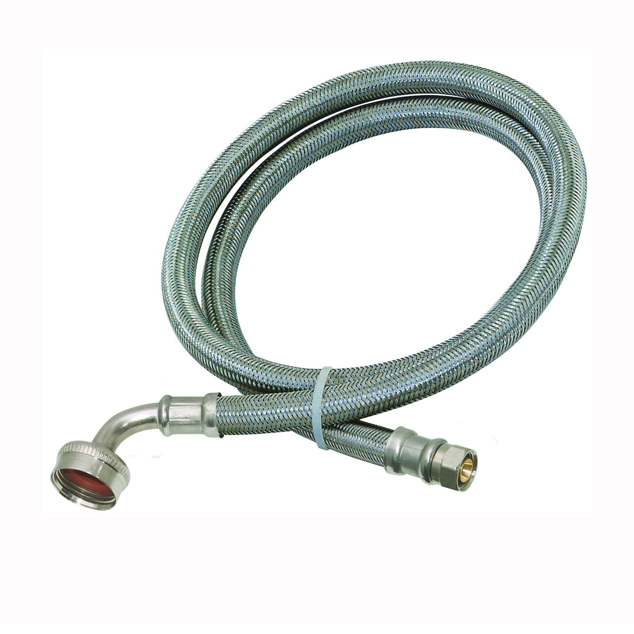 Picture of EZ-FLO 41043 Dishwasher Connector Hose, 3/4 in Inlet, 3/8 in Outlet, 6 ft L