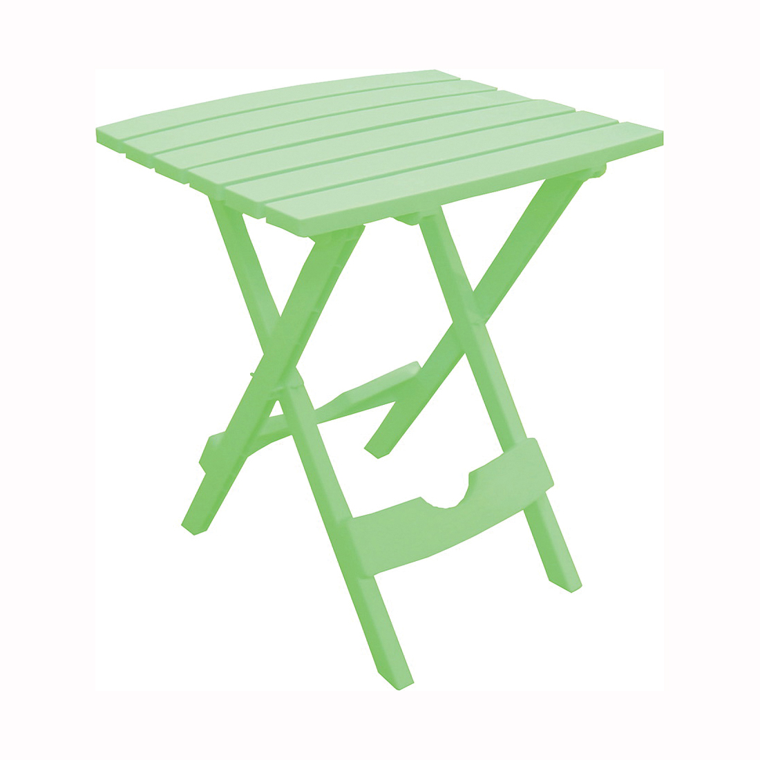 Picture of Adams Quik-Fold 8500-08-3735 Side Table, 15-1/4 in W, 17-3/8 in D, 19-3/4 in H, Resin Frame, Rectangular Table