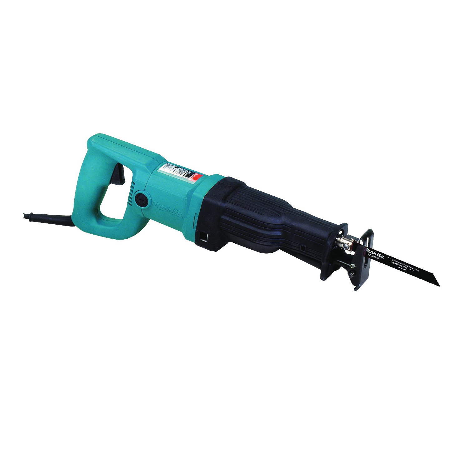 Picture of Makita JR3050T Reciprocating Saw, 120 V, 9 A, 5-1/8 to 10 in Cutting Capacity, 1-1/8 in L Stroke, 2800 spm SPM
