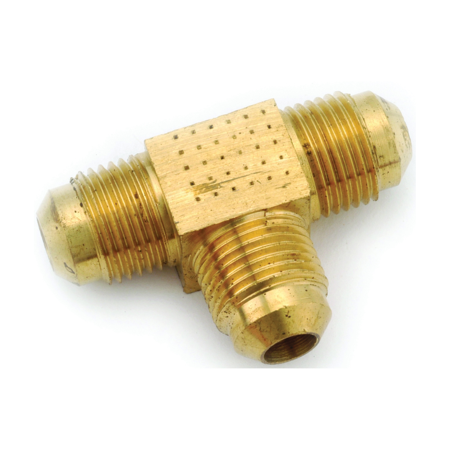 Picture of Anderson Metals 754044-05 Tube Union Tee, 5/16 in, Flare, Brass