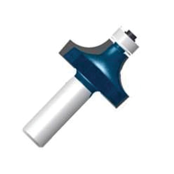 Picture of Bosch 85297MC Router Bit, 1-1/2 in Dia Cutter, 2-1/4 in OAL, 1/4 in Dia Shank, 2 -Cutter, Steel