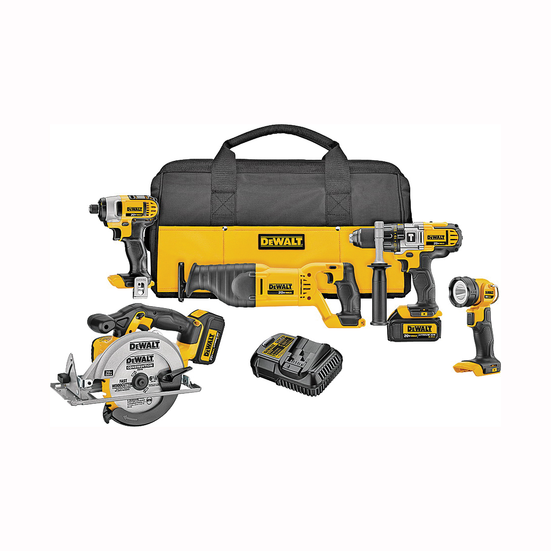 Picture of DeWALT DCK590L2 Combo Kit, Battery Included: Yes