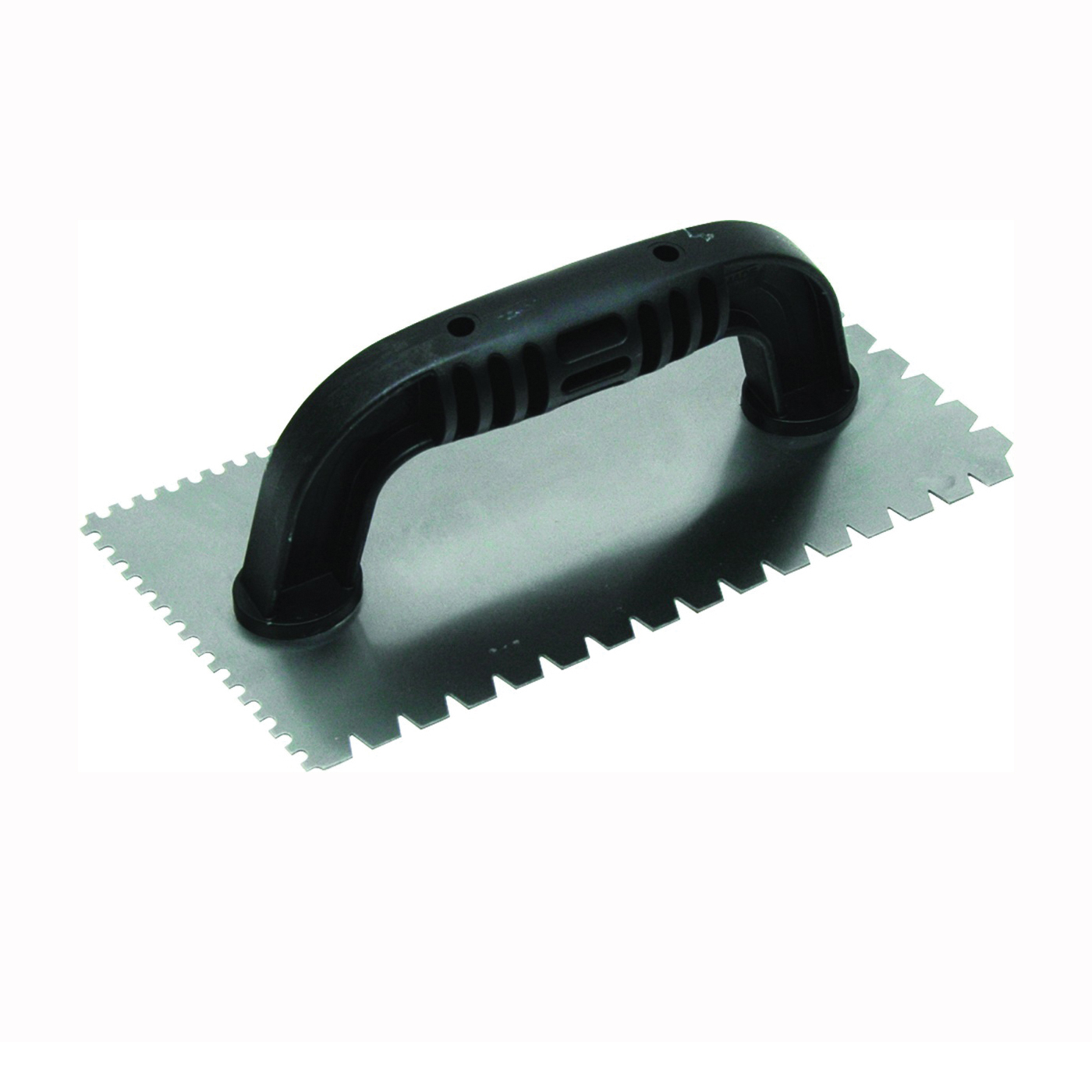 Picture of Marshalltown QLT Series 238 Trowel, 9 in L, 4 in W, Flat V and U Notch