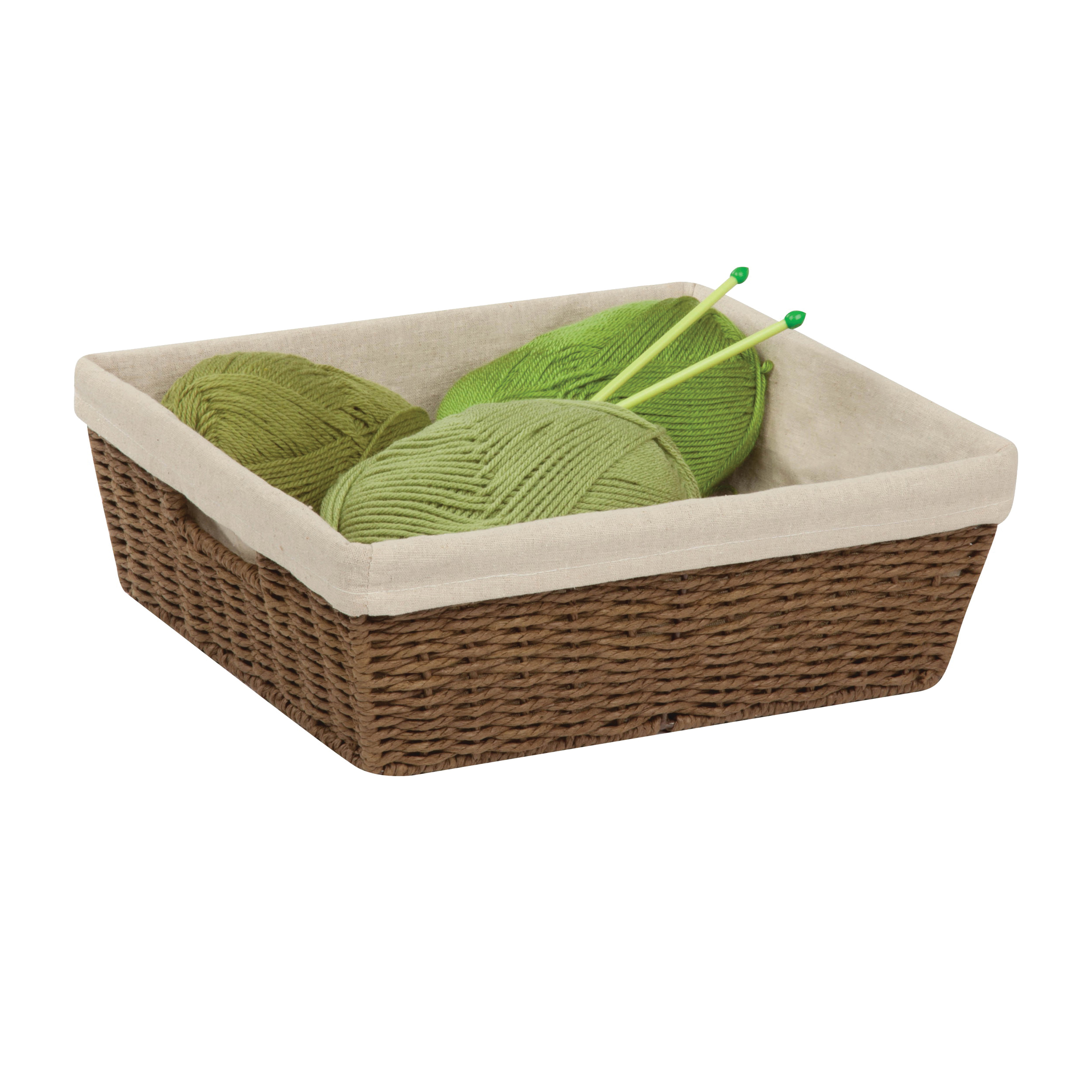 Picture of Honey-Can-Do STO-03564 Storage Basket, Paper, Brown