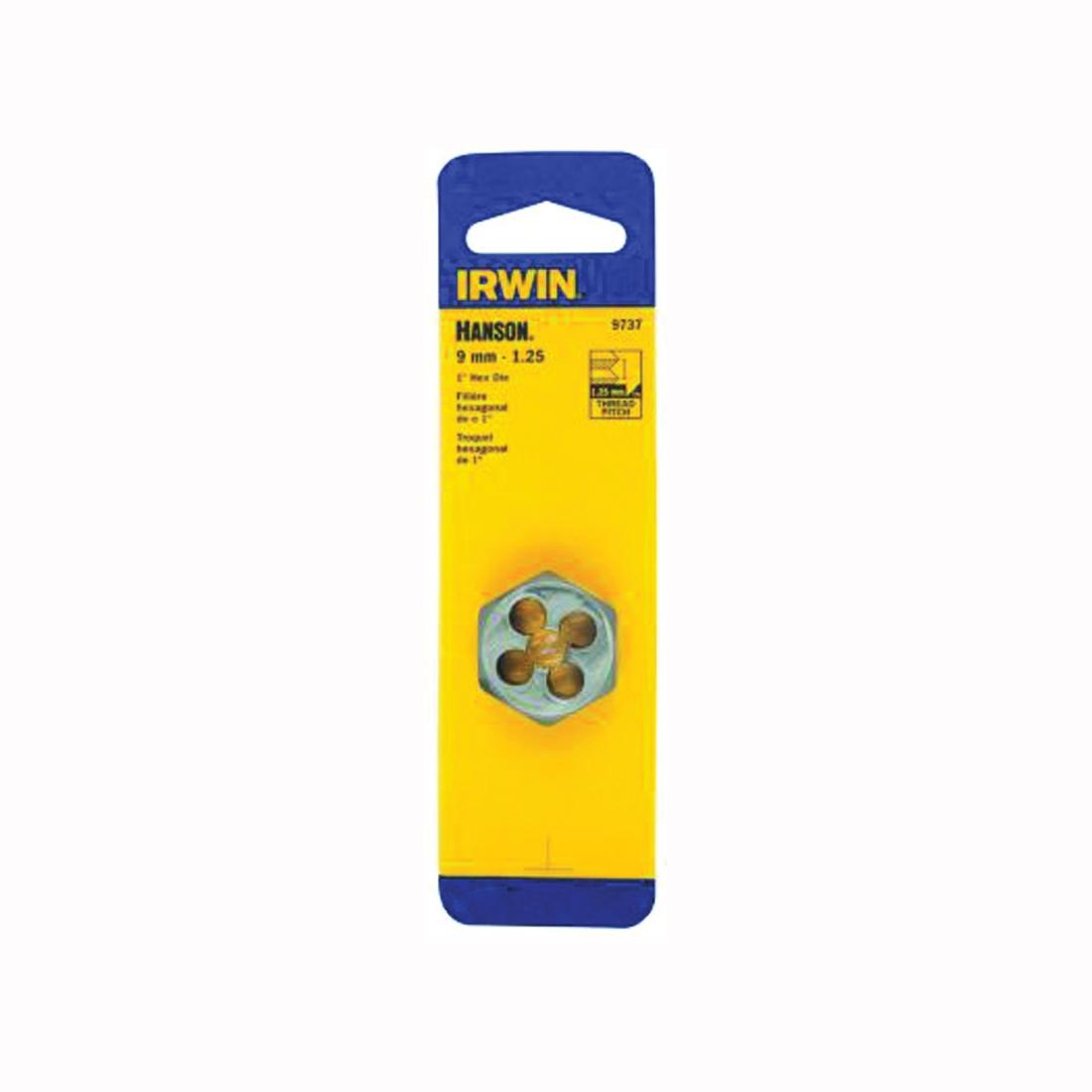 Picture of IRWIN 9737 Metric Dies, M9-1.25 Thread, Right Hand Thread, HCS