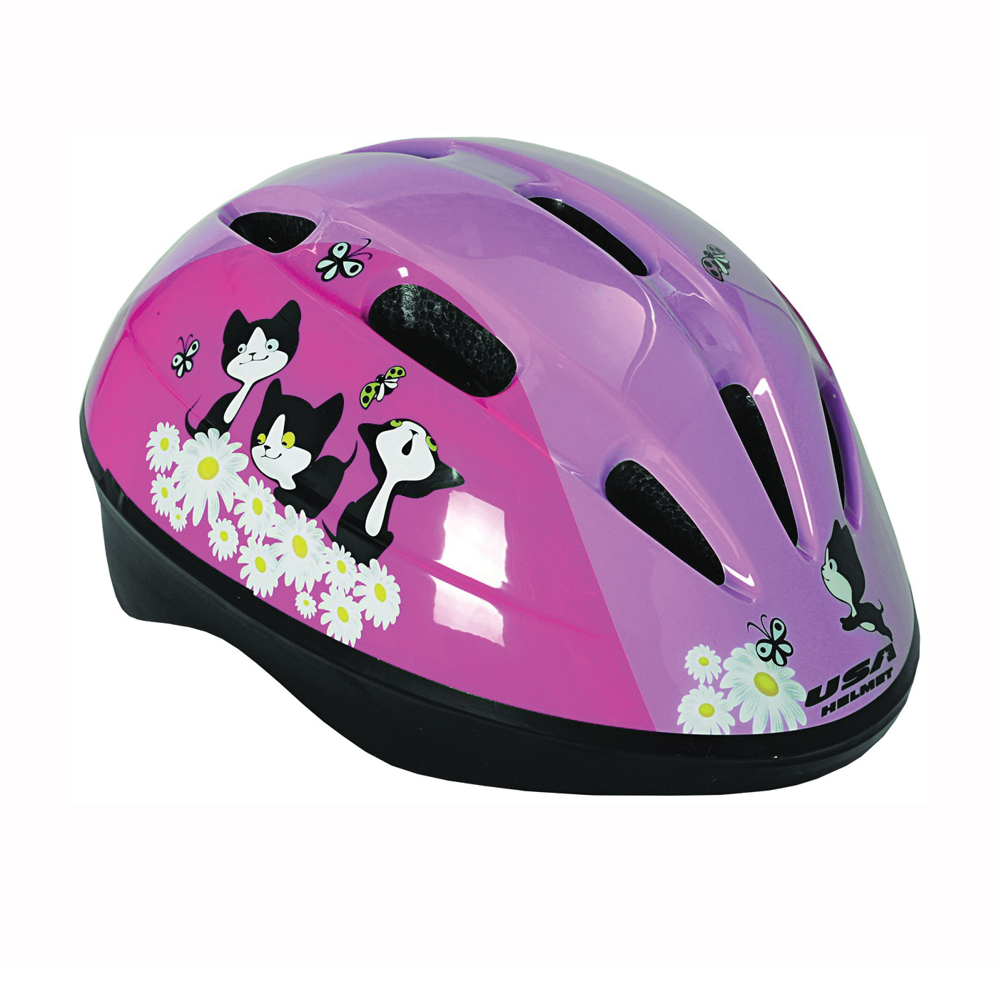 Picture of Kent 64101 Toddler Helmet, Pink, For: 19 to 21-1/2 in Head Size and Toddlers