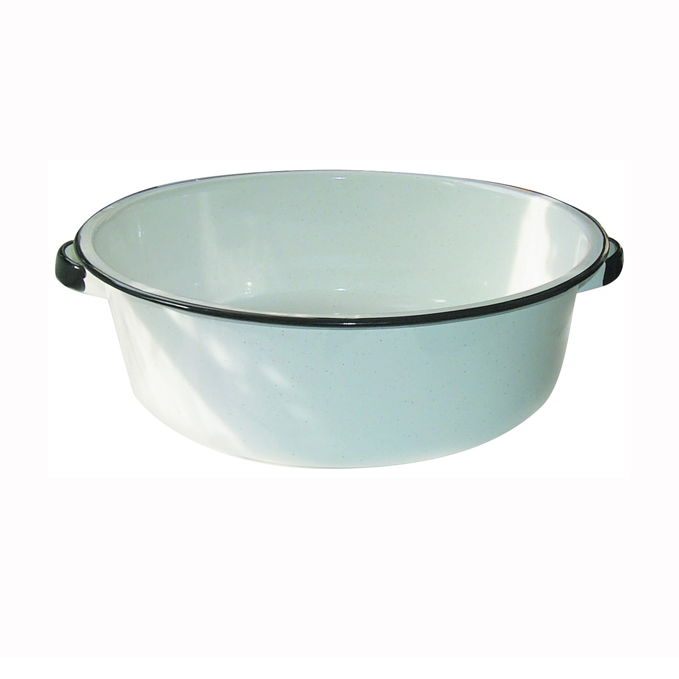 Picture of Granite Ware F6416-4 Dish Pan with Handle, 15 qt Volume, Steel, White