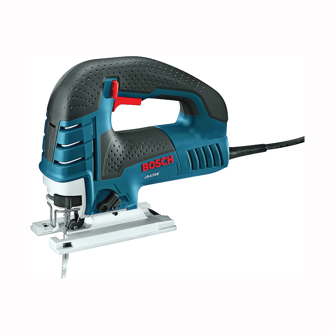 Picture of Bosch JS470E Jig Saw, 120 V, 7 A, 0.87 in Aluminum, 0.37 in Mild Steel, 5.875 in Soft Wood Cutting Capacity